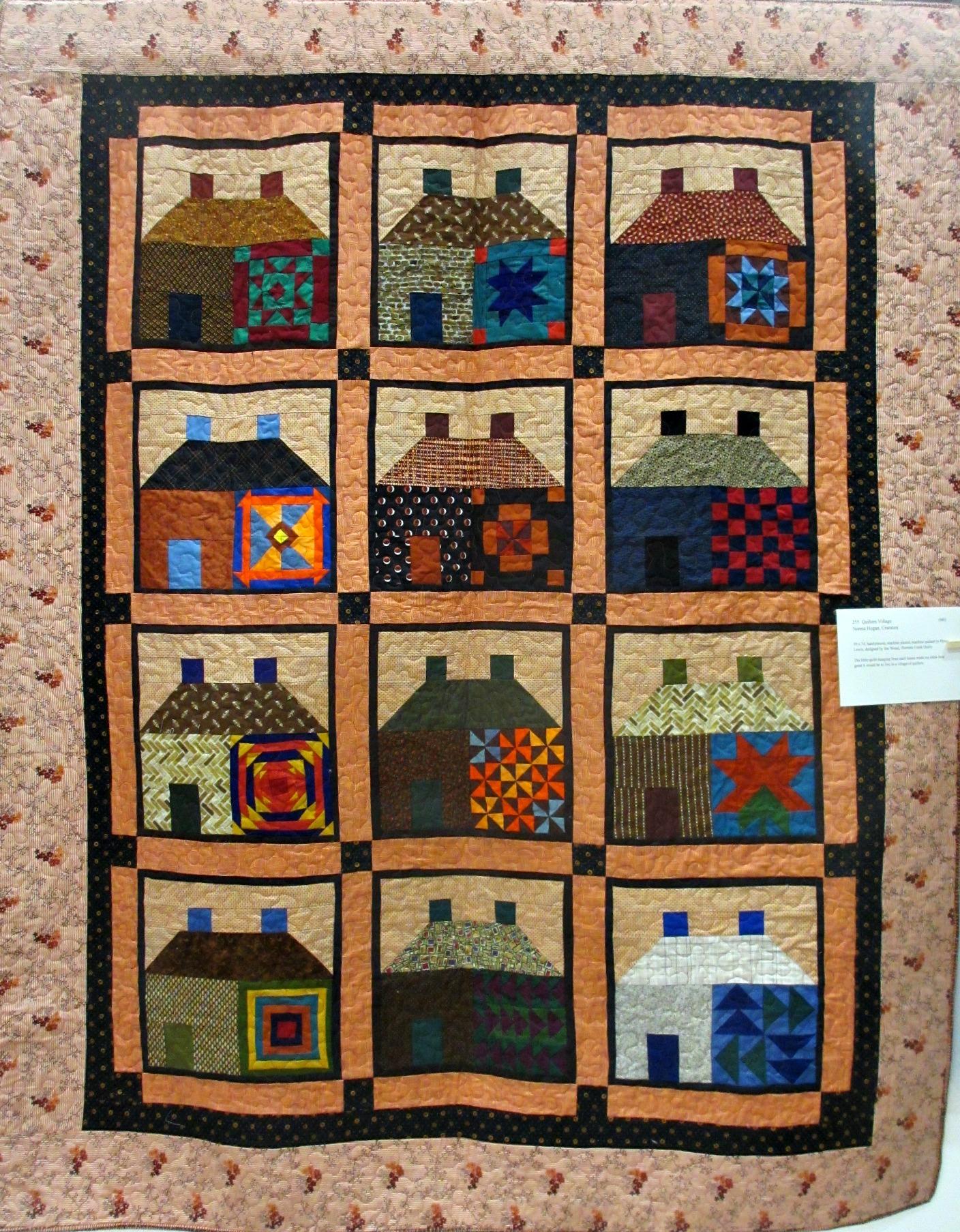 "Norma Hogan (Cranston, RI) ""Quilters Village"""