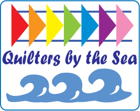 Quilters by the Sea logo