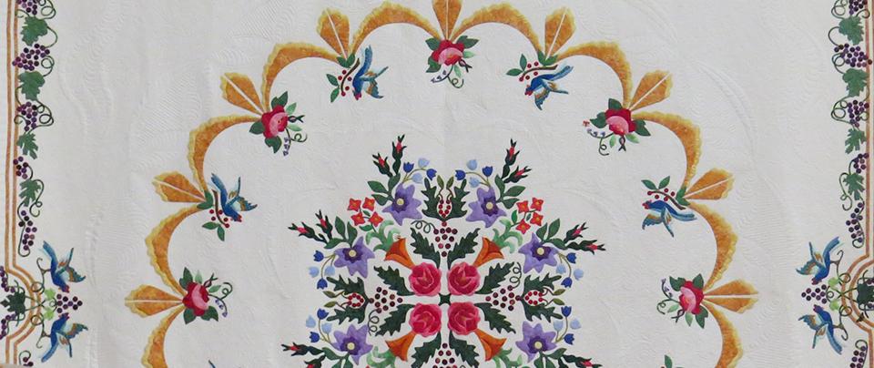 Sandy Reynolds, My Garden Quilt