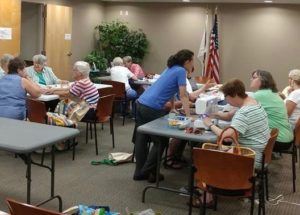 Sew Day at Rogers Free Library in Bristol RI